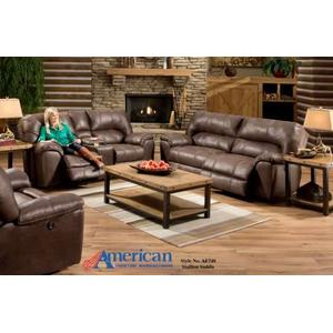 3pc AF740 Stallion Saddle Sofa, Loveseat, and Recliner