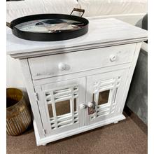 See Details - Rafael White Accent Chest