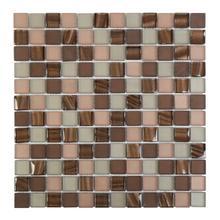 DP005 Pearl Glass Mosaic - BROWN