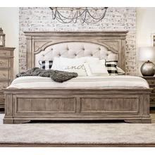 See Details - Highland Park King Size Bed with Tufted Headboard