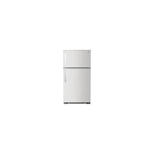 Kenmore - Kenmore 61202 21 cu. ft. Top-Freezer Refrigerator - White