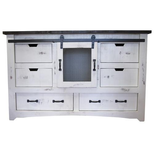 Gallery - Mesh Nero White/Rodeo Dresser