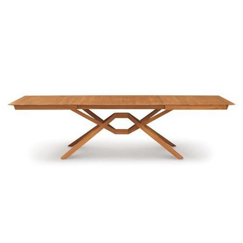 EXETER DOUBLE LEAF EXTENSION TABLE IN CHERRY
