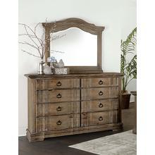 VAUGHAN BASSETT 682-004-446DM Rustic Hills Dresser & Mirror
