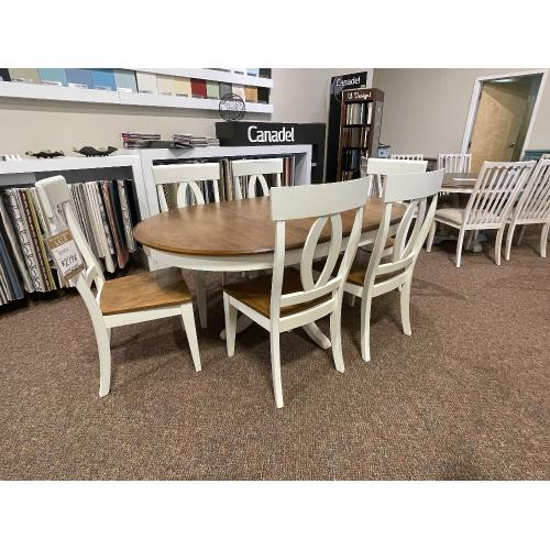 Canadel - GOURMET DINING SET WITH 6 CHAIRS