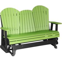 Adirondack Glider 5' Lime Green and Black