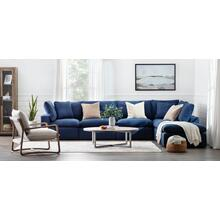 View Product - Epic Blue 6pc Modular Sectional