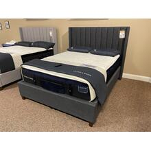 Queen Charcoal Upholstered Bed