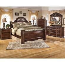 Gabriela - Queen Poster Bed, Dresser, Mirror, & 1 x Nightstand