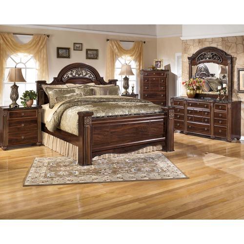 Packages - Gabriela - Queen Poster Bed, Dresser, Mirror, & 1 x Nightstand