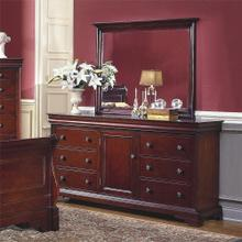 Versaille 6 Drawer, 1 Door Dresser