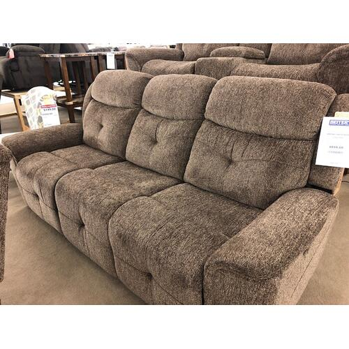 New Classic Furniture - HAVANA DUAL RECLINER SOFA W/PWR FR - Latte
