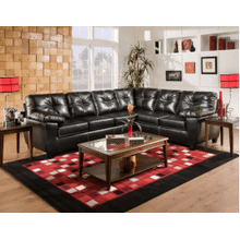 Thomas Black 2-Piece Sectional W/Chaise