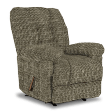 ORLANDO CHAISE ROCKER RECLINER in PEWTER         (6N47-19973,39884)
