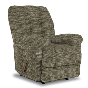 Best Home Furnishings - ORLANDO CHAISE ROCKER RECLINER in PEWTER         (6N47-19973,39884)