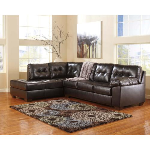 Alliston - Chocolate - 2-Piece Sectional with Left Facing Chaise