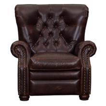 Compton Leather Chair in Cocoa