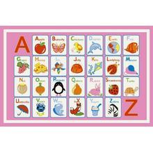 """Alphabet / Dreamy - 0770 Size 3'3""""x4'7"""""""