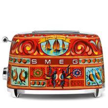 Smeg 50s Retro Style Design Aesthetic 2 Slice Toaster, Dolce & Gabbana