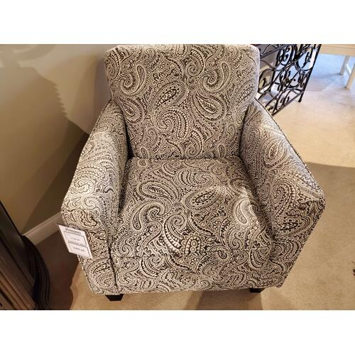 Regency Iron Accent Chair