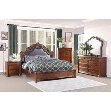 Barbary Qn Bed, Dresser, Mirror and Nightstand