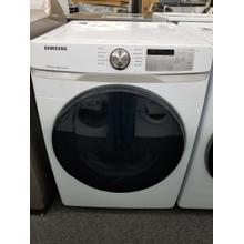 "See Details - Samsung 27"" Gas Dryer DVG45R6100W (FLOOR MODEL)"