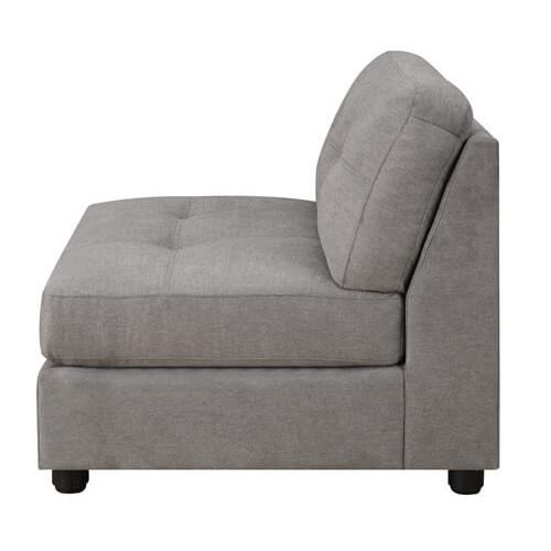 Packages - Claude Grey Tufted 7 Piece Sectional