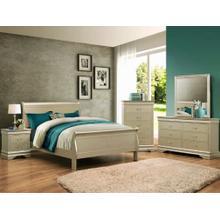 4 piece Champagne queen bedroom set