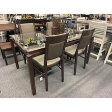 "5 Piece Amisco ""Payton"" Dining Set"