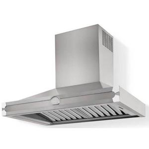 Lacornue Cornufe - Stainless Steel Albertine 90 Hood with Polished Chrome Accents