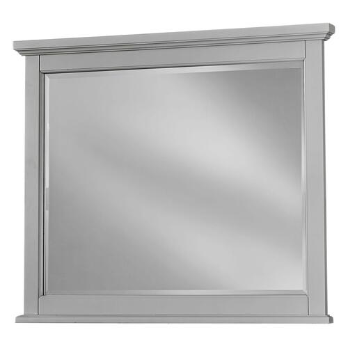 Vaughan-Bassett - Grey Landscape Mirror