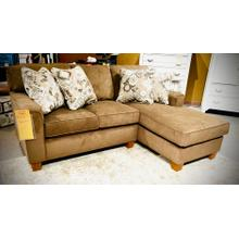 See Details - ANNABEL CHAISE Stationary Sectional in Mocha        (m81co-20226,29066,29067)