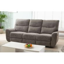 LIFESTYLE U80033-61BPSHINX Plush Oatmeal Reclining Sofa