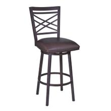 """Macy"" Swivel Stool. Available in 2 Color Combinations"