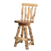 A118 Swivel Barstool with Back
