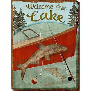 Welcome Lake 30 x 40