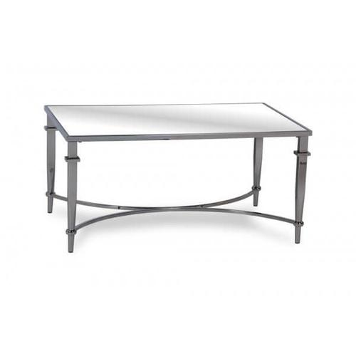 Mirrored Top Occasional Table