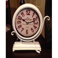 See Details - Metal Desk Clock
