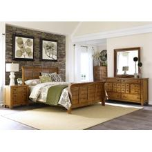 LIBERTY 175 BR31-BR51-BR21HF-BR21R Grandpa's Cabin 3-Piece Bedroom Group - Queen Bed, Dresser & Mirror