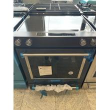 Scratch and Dent 30-Inch 5-Element Electric Slide-In Convection Range - Black Stainless Steel with PrintShield™ Finish