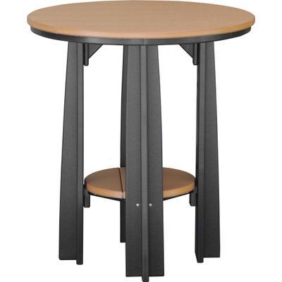 Balcony Table Cedar and Black