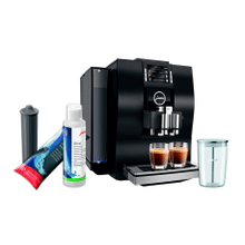 Jura Z6 Automatic Coffee Machine Black with Smart Water Filter, System Cleaner and Milk Container