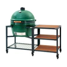 Big Green Egg Modular Nest with Acacia Inserts