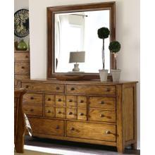 LIBERTY 175-BRDM Grandpa's Cabin Dresser & Mirror