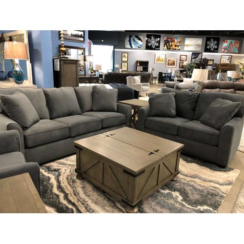 James 2 Piece Living Room Set (Sofa and Loveseat)
