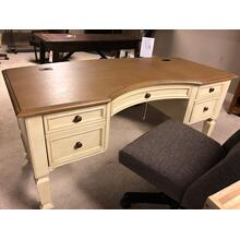 Aspen Cottonwood Desk and Bookshelf