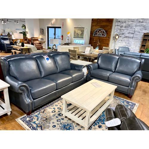 Winfield Harbour Blue Sofa & Loveseat