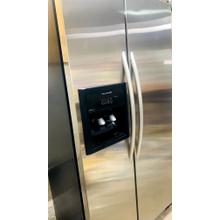 Product Image - USED- 24.5 Cu. Ft. 35 5/8 In. Width Counter-Depth Side-by-Side Dispensing Freestanding Refrigerator(Stainless Steel)- SXS36SS-U  SERIAL #35