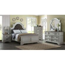 Grove Hill - Antique White 6 Piece Bedroom Set