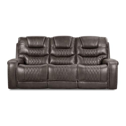 CORINTHIAN 88803-39HR  88803-49HR 88803-19HRG Desert Charcoal Power Sofa, Power Loveseat & Power Recliner Group